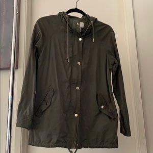 Forever 21 Olive Lightweight Jacket